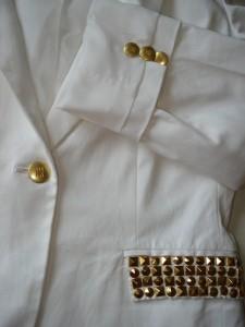 Guld knapper fra Stof 2000