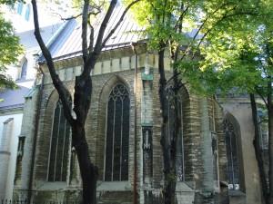 Gammel kirke i Thallin