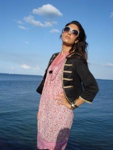 Tunika kjole fra Indiska