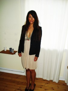 Kjole: H&M, Blazer: H&M