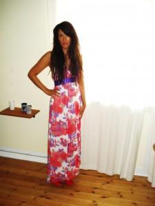 Maxi kjole: Vera Moda