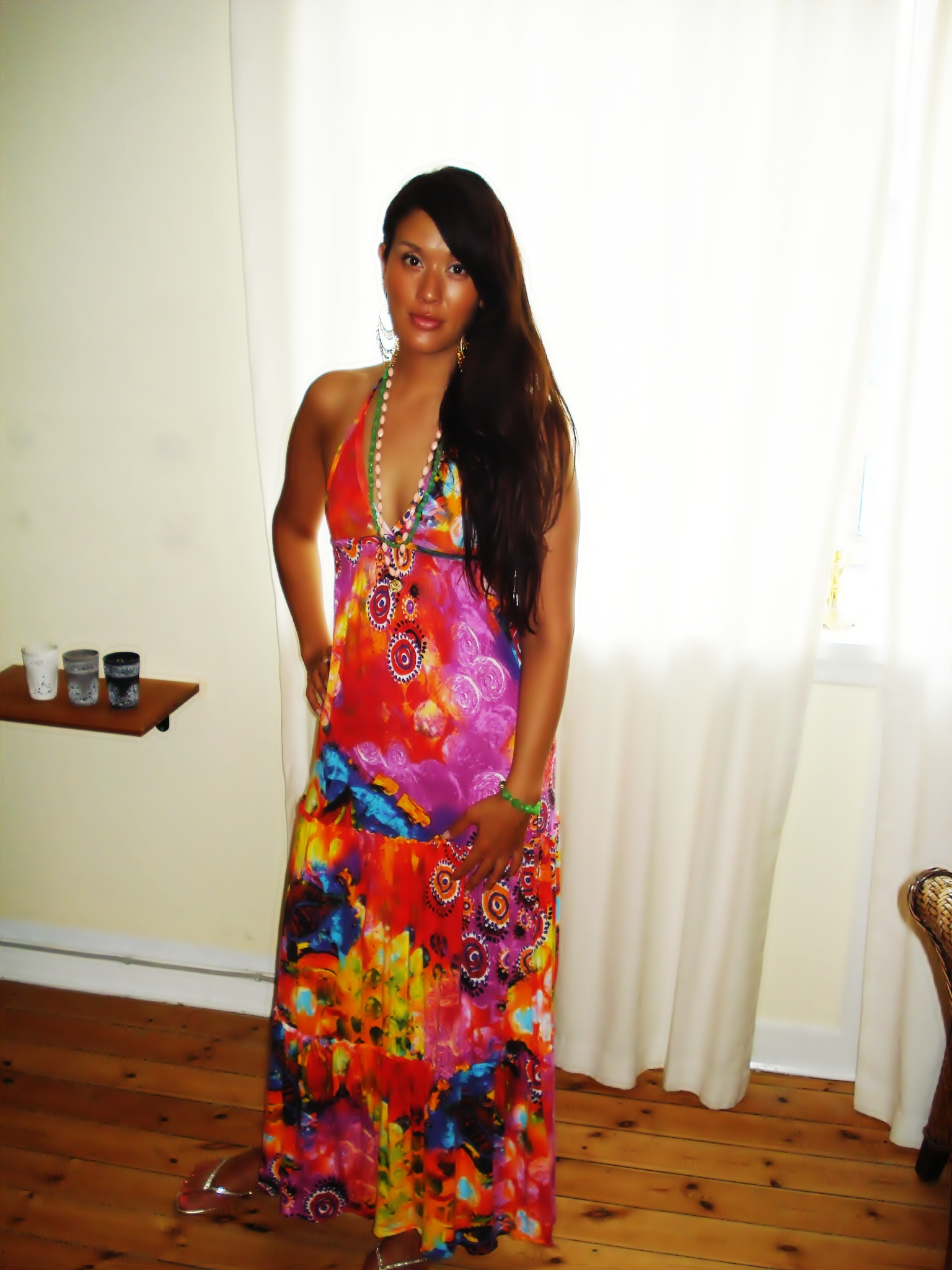 Maxi kjole: Zara