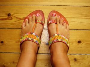 Sandaler: Oasis