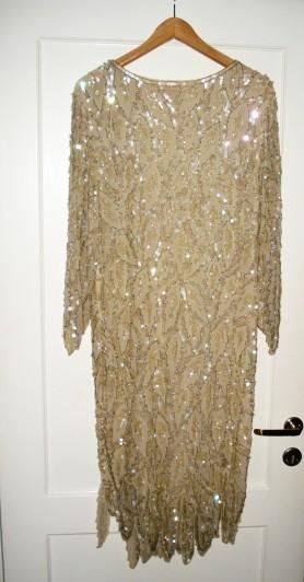 Vintage Palliet kjole