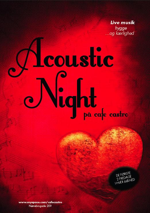 Acoustic Night på Café Castro