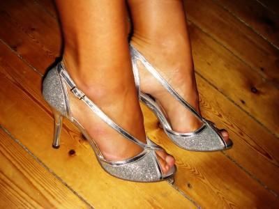 Sølv sandaler: Asos