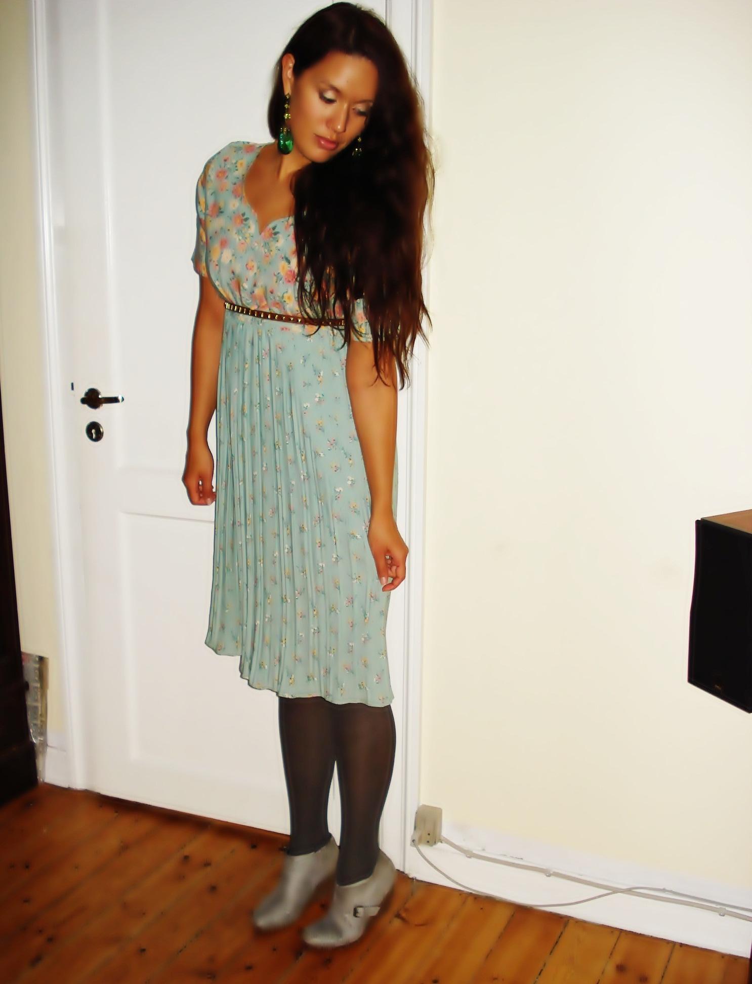 Kjole: Vintage