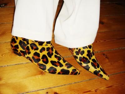 Leopard Boots: Bronx