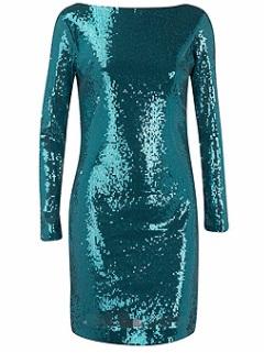Palliet kjole 50£