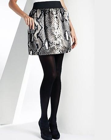 Slange print nederdel fra Marks&Spencer