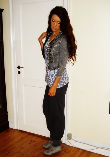 Pants: Vero Moda, Ankel boots: H&M