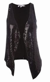 Sequin waistcoat