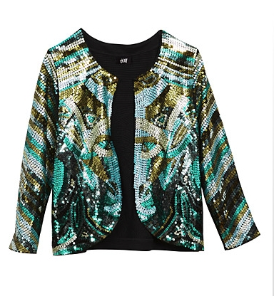 Sequin jacket H&M 349,- Kr