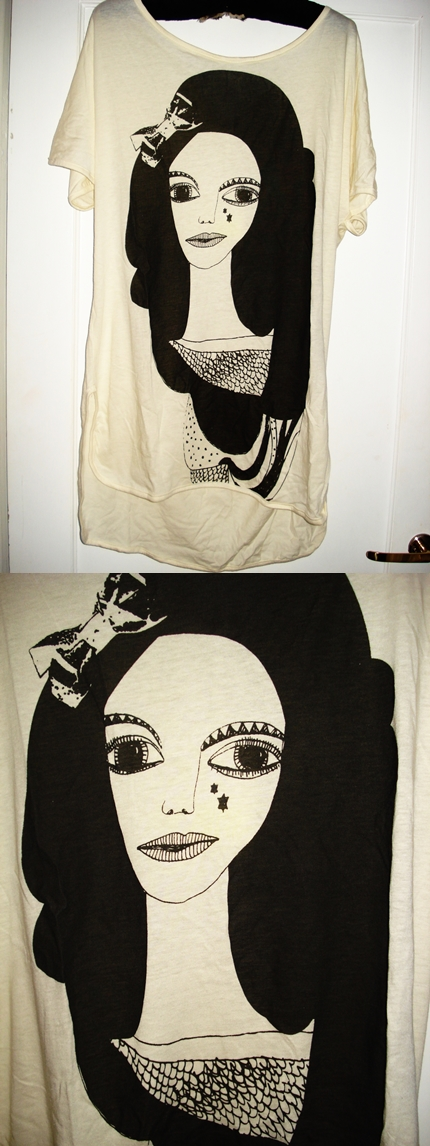 Oversize T-shirt: Nümpf