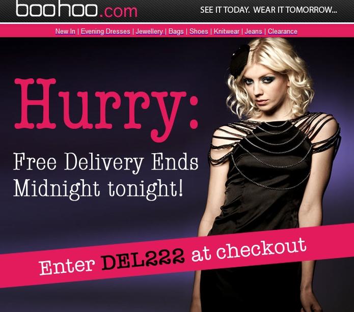 Boohoo discount