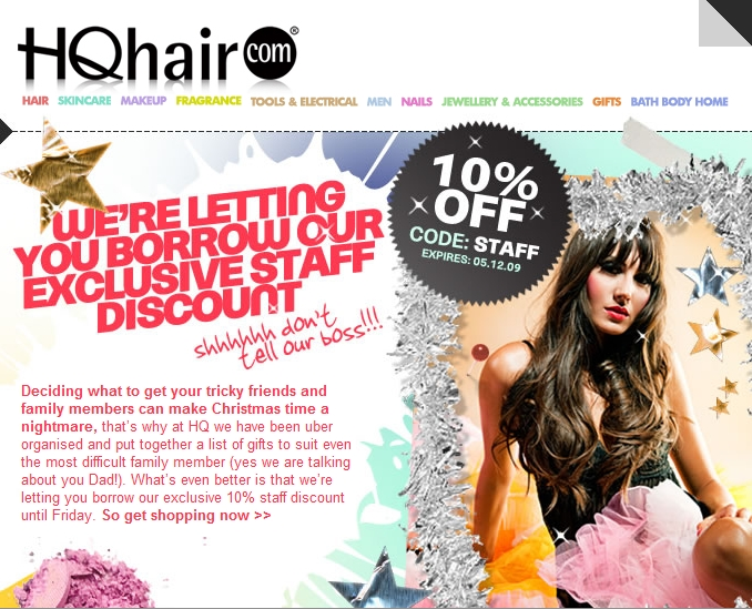 hq-hair-rabat-kode, discount voucher code HQ Hair