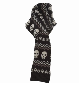 Skull scarf from NewLook