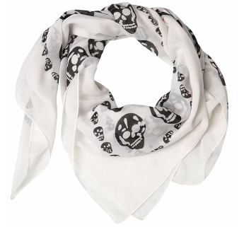 Skull scarf from Miss Selfridge