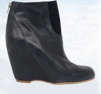 Bianco Puft boot, wedge boots, støvler med kilehæl