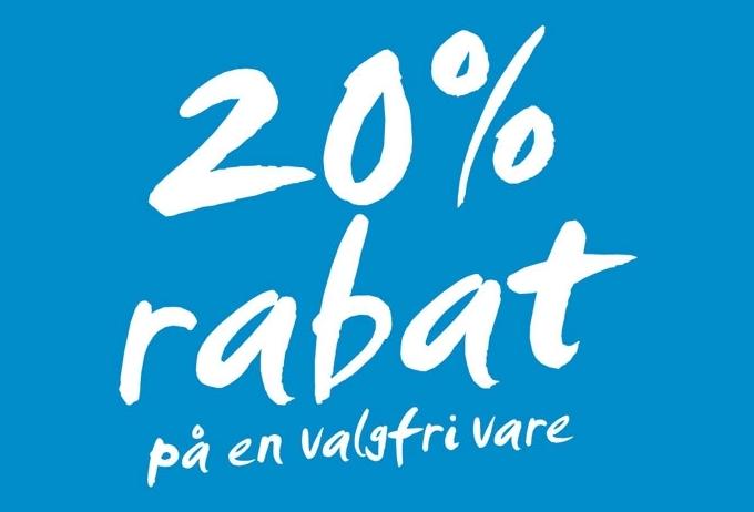 20% rabat H&M