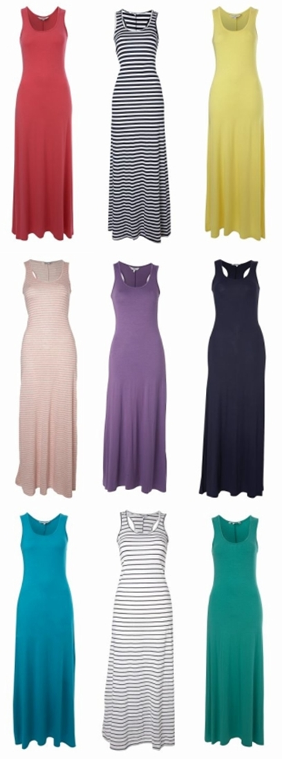Maxi dresse buy online, colorful maxi dresses, maxi kjolet 2010