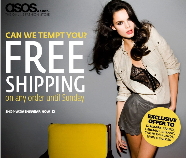 free delivery Asos
