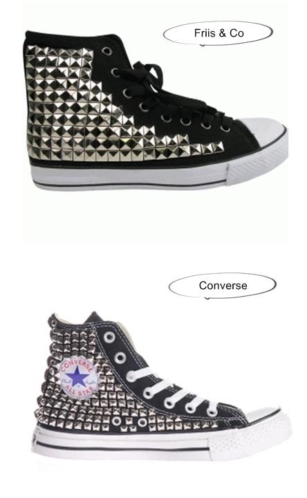 Regitta nitte sneakers friis &co, Converse Sneakers Studs