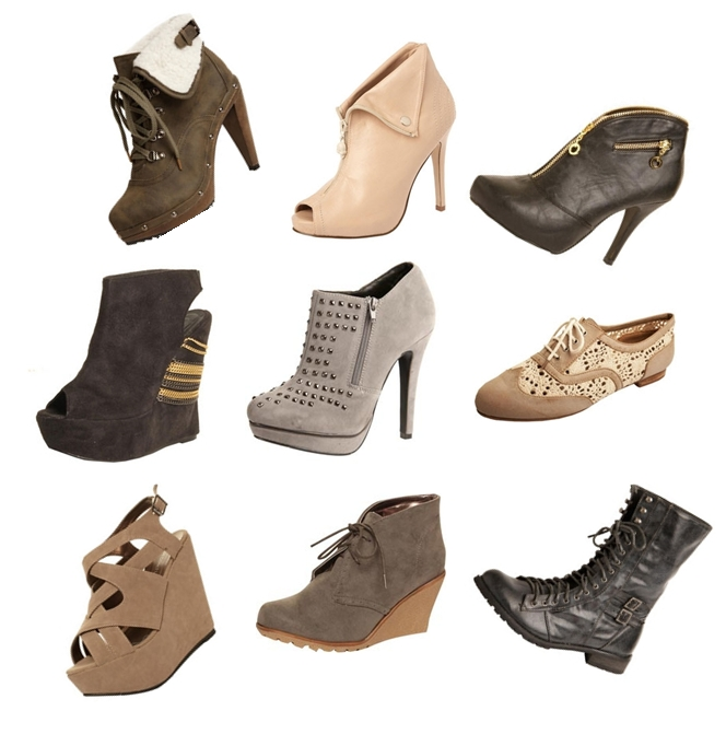 Monica Platform Studded Shoe Boots, Shari 2 Buckle Worker Boots, Katie Chain Detail Wedged Shoe, Diandra Lattice Wedges, Alexis Nude Zip Front Shoe Boots, Meagahn Hiker Boot,Pixie Lace Up Brogue Flat Shoe, Gretal Folded Cuff Shoe Boot, Bella Contrast Wedge Shoe Boot