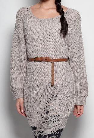 Cora Chunky Knit Oversized Jumper