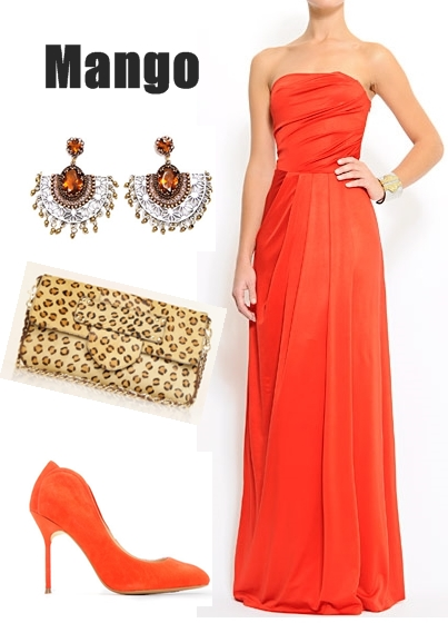 mango, galla kjole, red maxi kjole, red prom dress