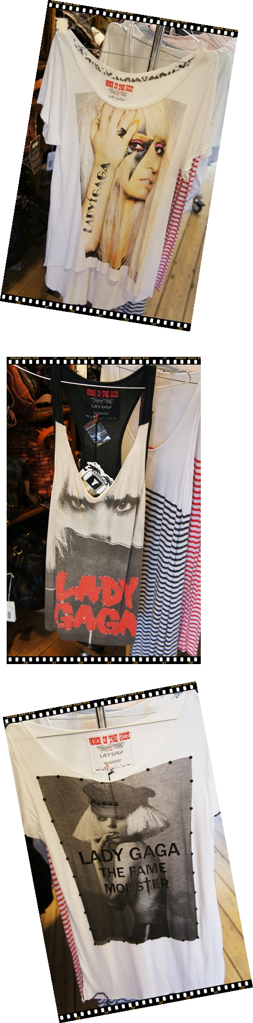 lady gaga t-shirt, house of the gods