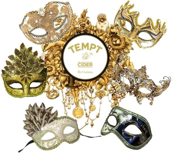 tempt cider, Copenhagen Masquerade 2011