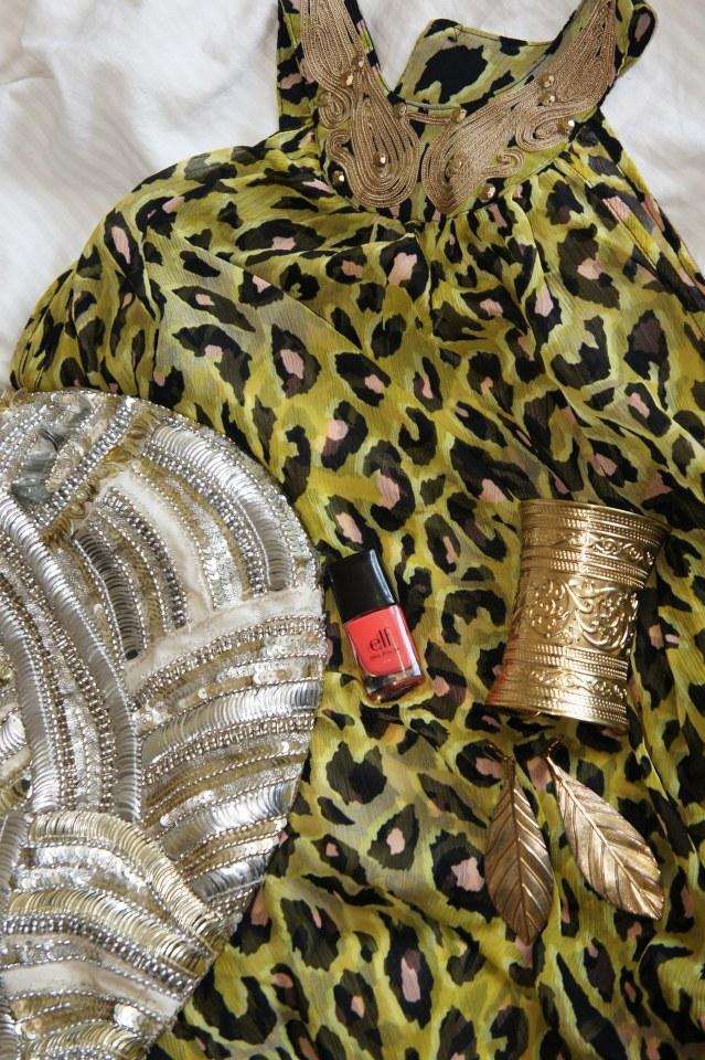 elf mango madness, delance fashion smykker, leopard kjole h&M