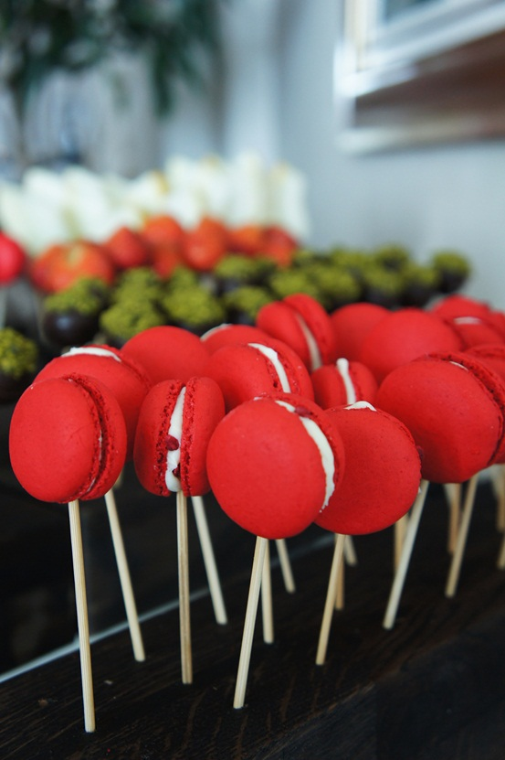 food on a stick, pop cake