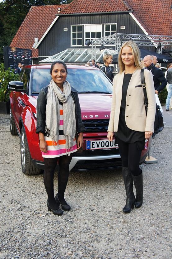 caroline, maria, Range Rover Evoque Event
