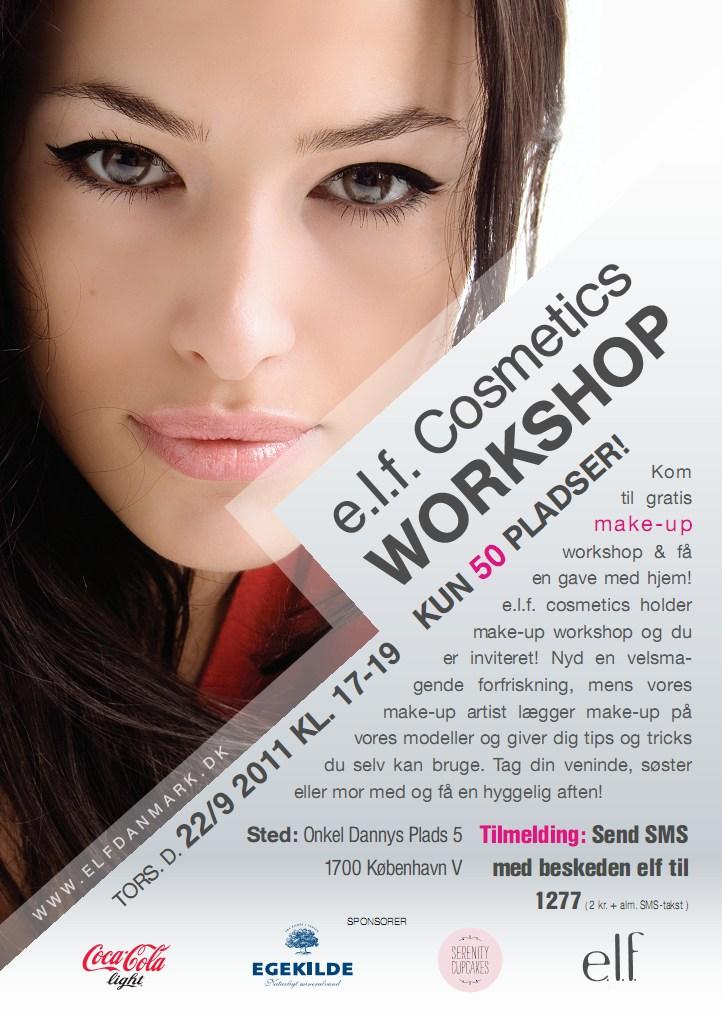 e.l.f. cosmetics event københavn