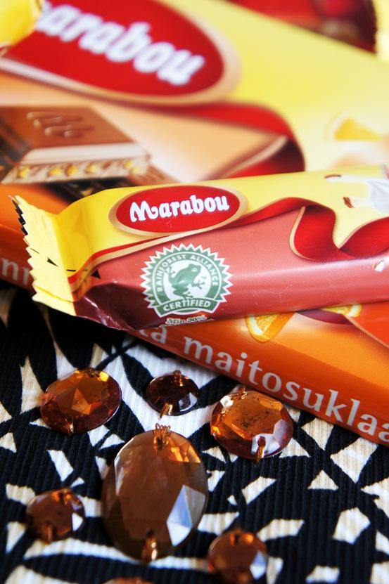 marabou chokolade, rainforest alliance chokolade