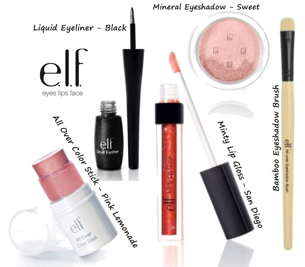 elf giveaway, elf makeup gave, elf konkurrence