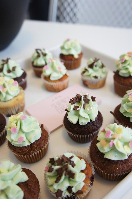 serenity cupcakes, think pr pressedag