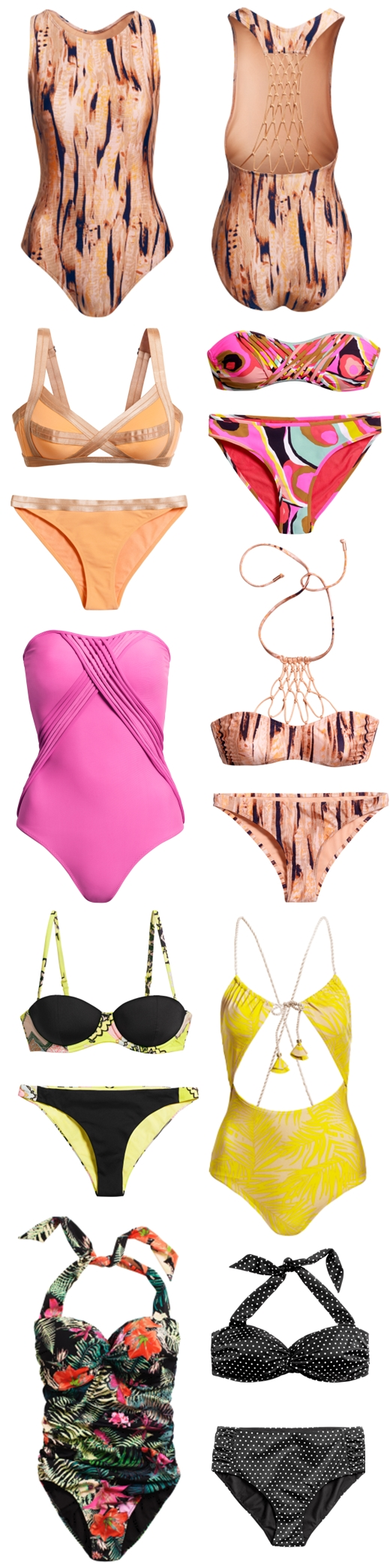 hm swimwear 2012, H&M badetøj 2012, H&M bikini sommer 2012, H&M bikini 2012, H&M badedragt sommer, H&M summer swimsuit