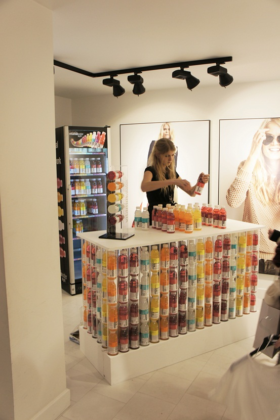 vitamin water, gina tricot event