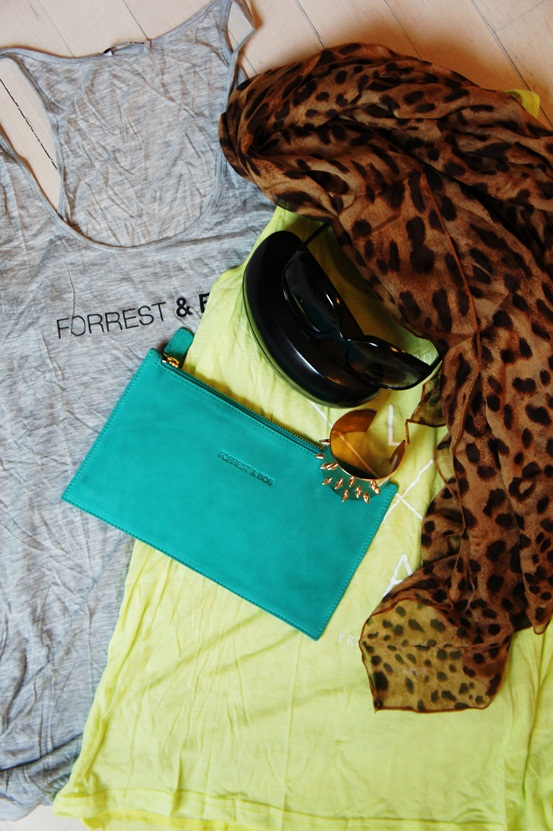 FORREST & BOB 3 DAY SAMPLE SALE , forrest and bob tank tops, forrest & bob clutch, Forrest & Bob leopard scarf