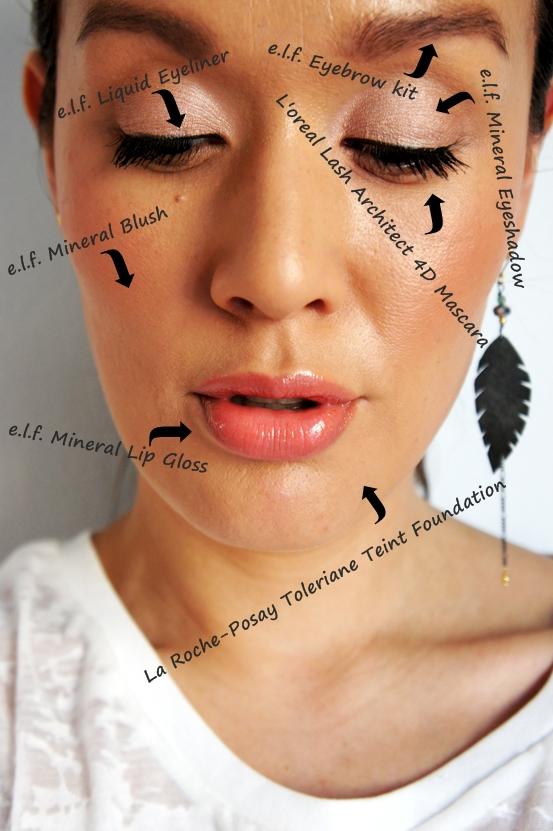 makeup rutine