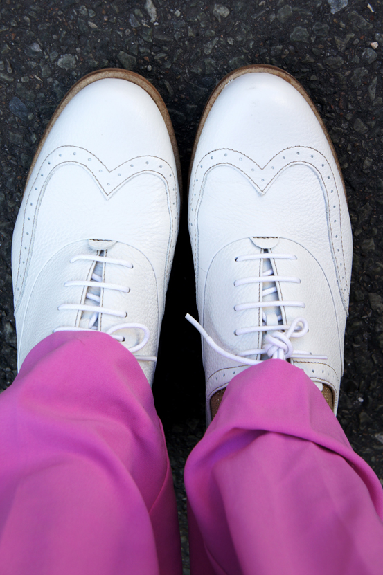 ecco sko, ecco shoes, MALMO ecco sko, hvid snøre sko, herre agtig sko til damer