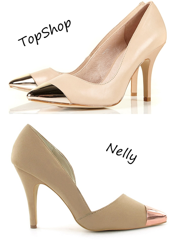 topshop shoes, nelly shoes, Metal Toecap pumps, Pumps af ruskindsimitation fra NELLY SHOES, Spids tå af metal