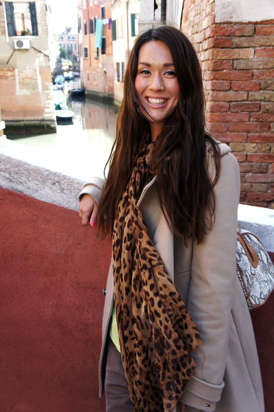 leopard scarf bob & forrest