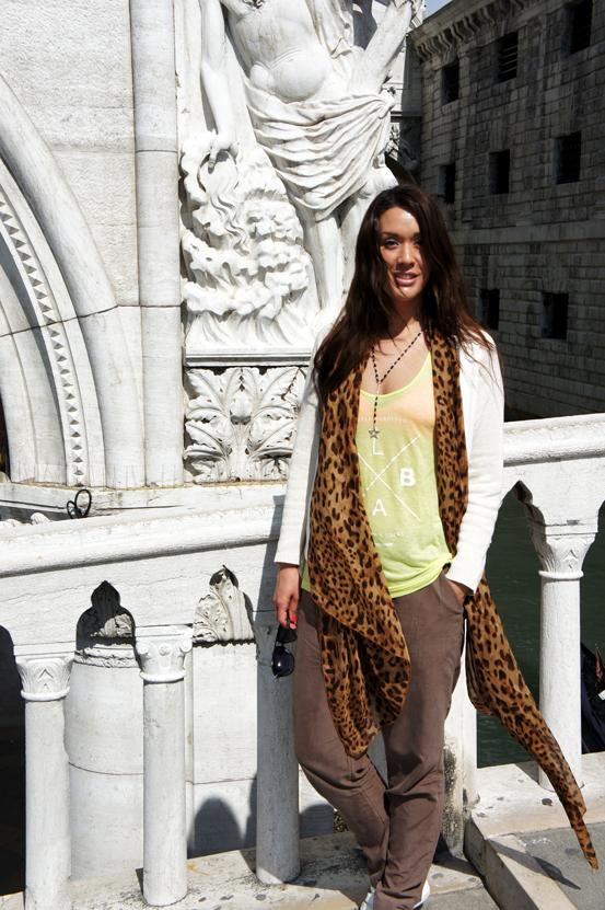 leopard tørklæde forrest & bob , tank top forrest and bob, venedig