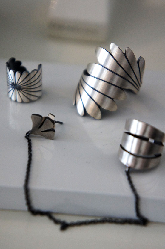 rabinovich smykker, rabinovich jewellery, ear cuffs silver, ear cuff sølv