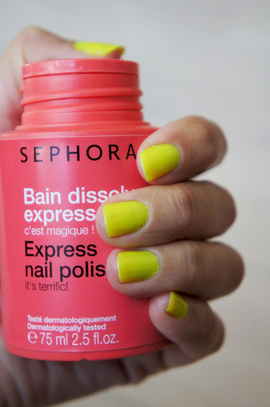 sephora Bain dissolvant express, sephora express nail polish remover, sephora neglelaksfjerner