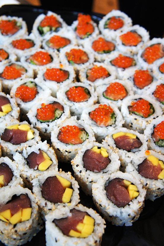 sushi, mildh press